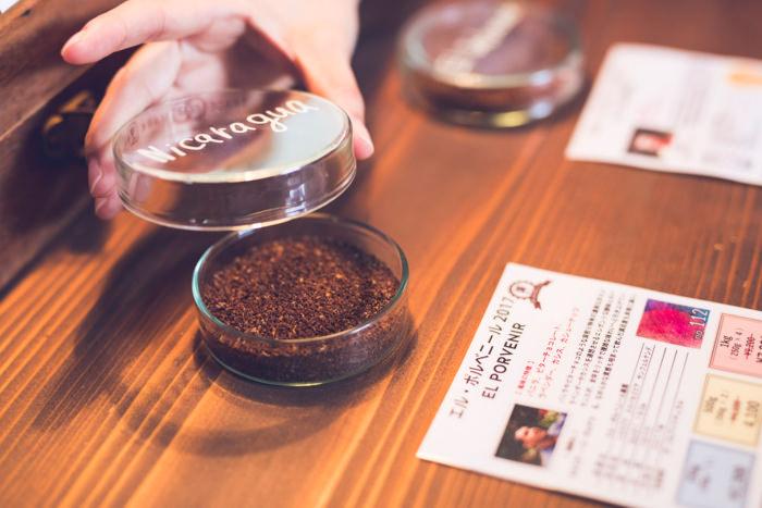 コーヒー粉のイメージ