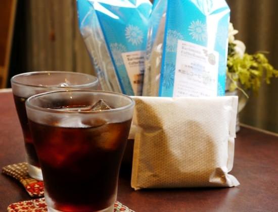 水出しコーヒーバッグが好調です。