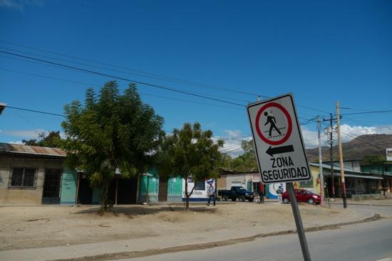 ニカラグアの街