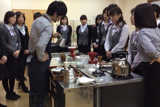 カリオモンズのコーヒー教室